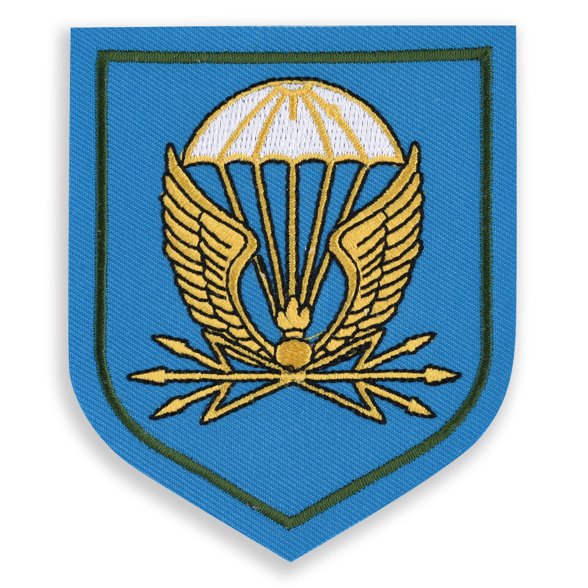 Шеврон 38 отдельный полк связи ВДВ