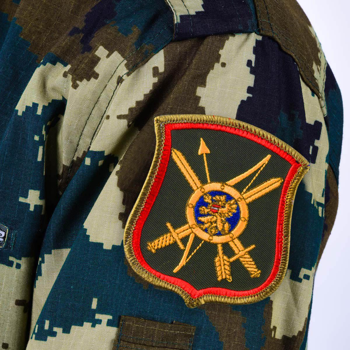 Шеврон 7-й ракетной дивизии РВСН