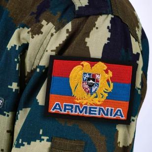 Шеврон флаг Армении