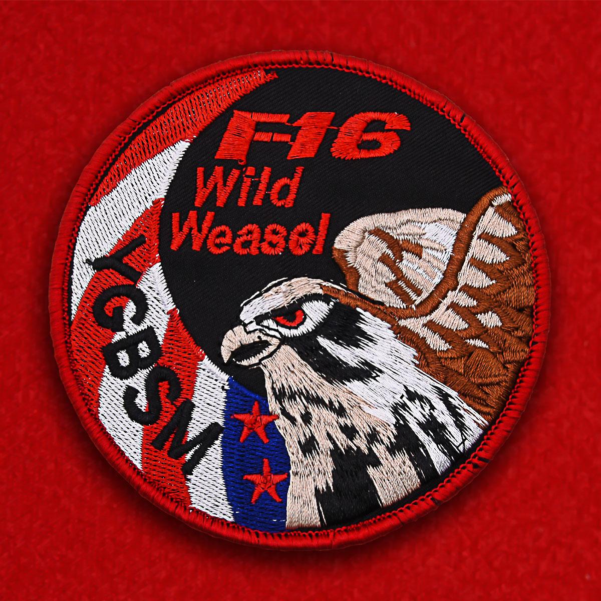 Шеврон лётчика F-16 США
