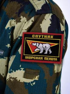 """Шеврон Морской пехоты """"Спутник""""- на рукаве"""
