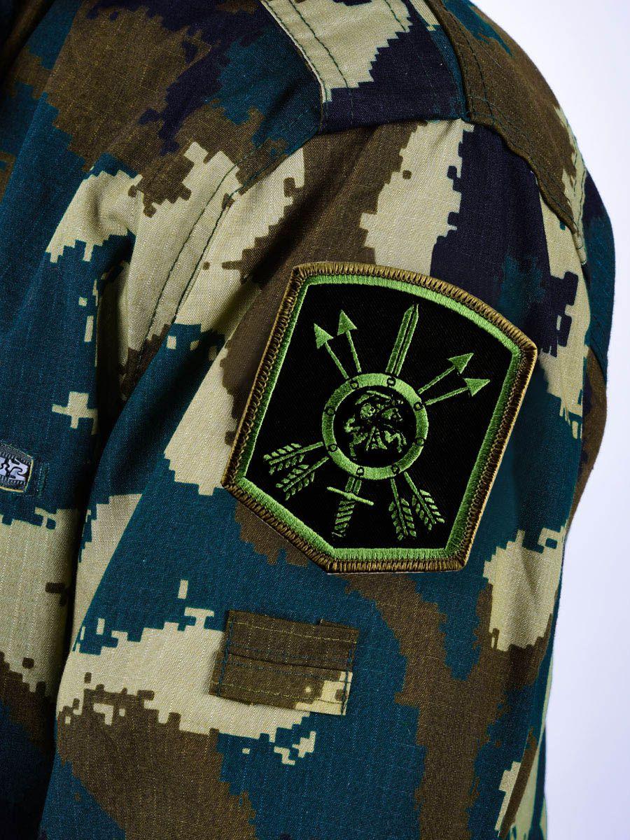 Шеврон на полевую форму 27 ракетная дивизия РВСН
