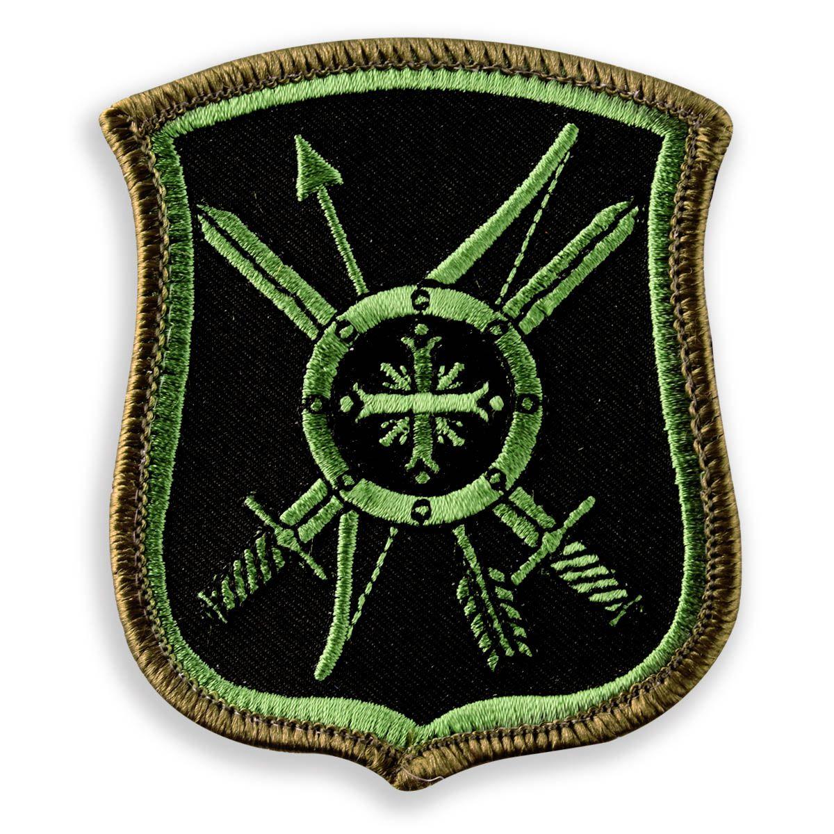 Шеврон на полевую форму 8 ракетная дивизия РВСН