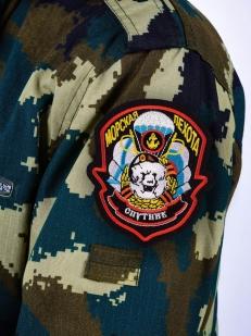 Шеврон пехоты «Спутник» - вид на рукаве
