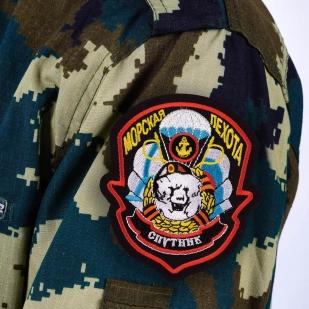 Шеврон пехоты «Спутник» - термо-клеевая основа