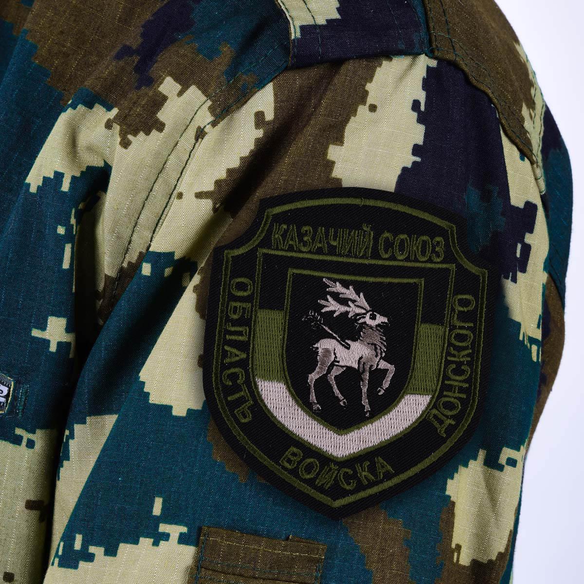 """Шеврон полевой Казачьего союза """"Область войска Донского"""""""
