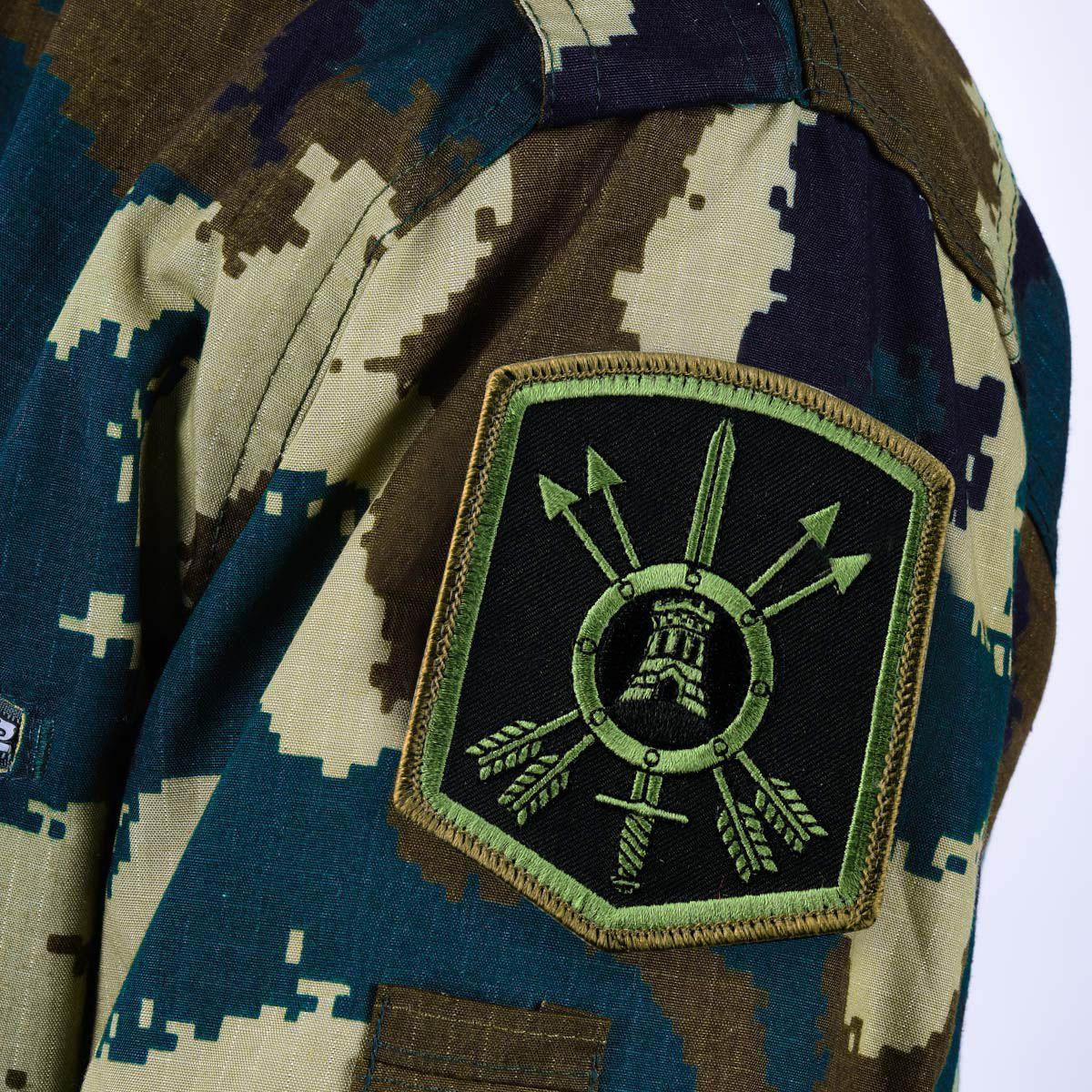 Шеврон РВСН полевой 33 ракетная дивизия