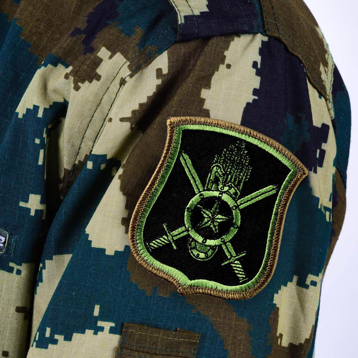 """Шеврон РВСН полевой """"60-я Таманская ракетная дивизия"""""""