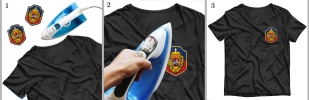 Шеврон Уголовного розыска на футболке