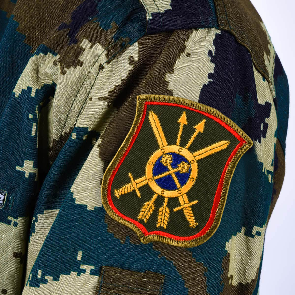 Шеврон военнослужащего 39-ой ракетной дивизии РВСН