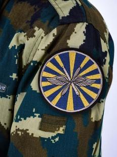 Шеврон ВВС России - на рукав формы