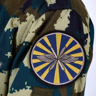 Шеврон ВВС России - термо-клеевая основа