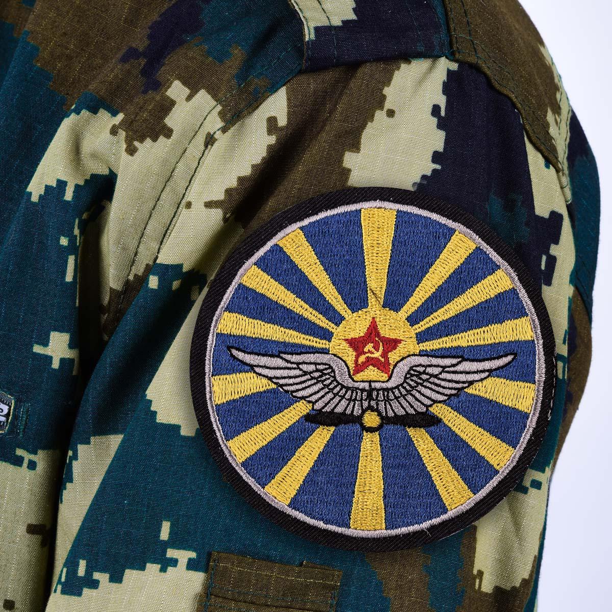 Шеврон ВВС СССР с термо-клеевой основой