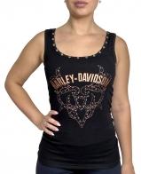 Шикарная женская майка борцовка Harley-Davidson