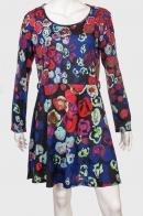 Шикарное платье с оригинальным принтом от Coco and Tashi