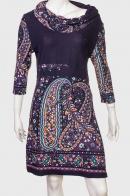 Шикарное платье с оригинальным воротником от Z&L