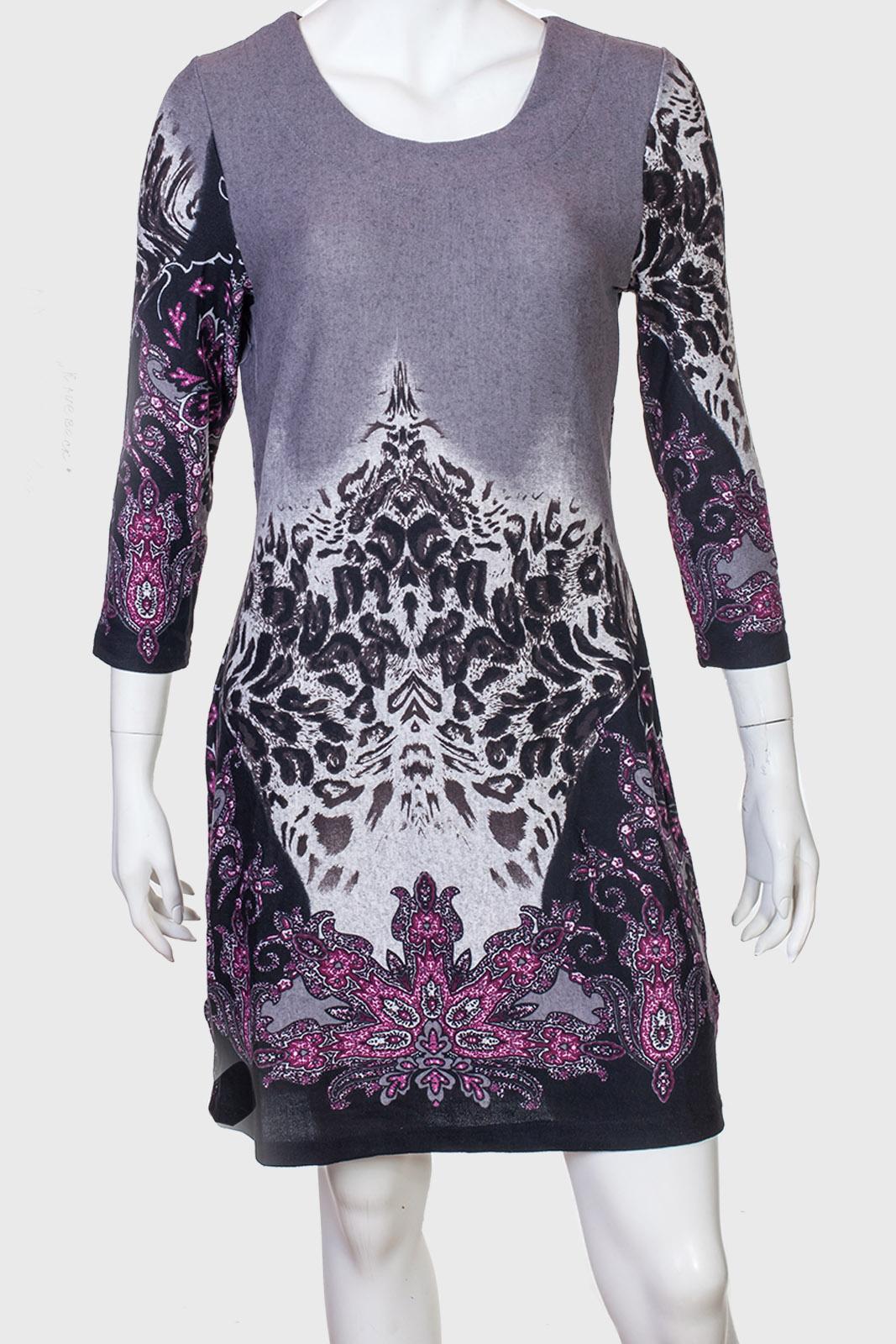 Шикарное женское платье с изумительным принтом от Kruebeck