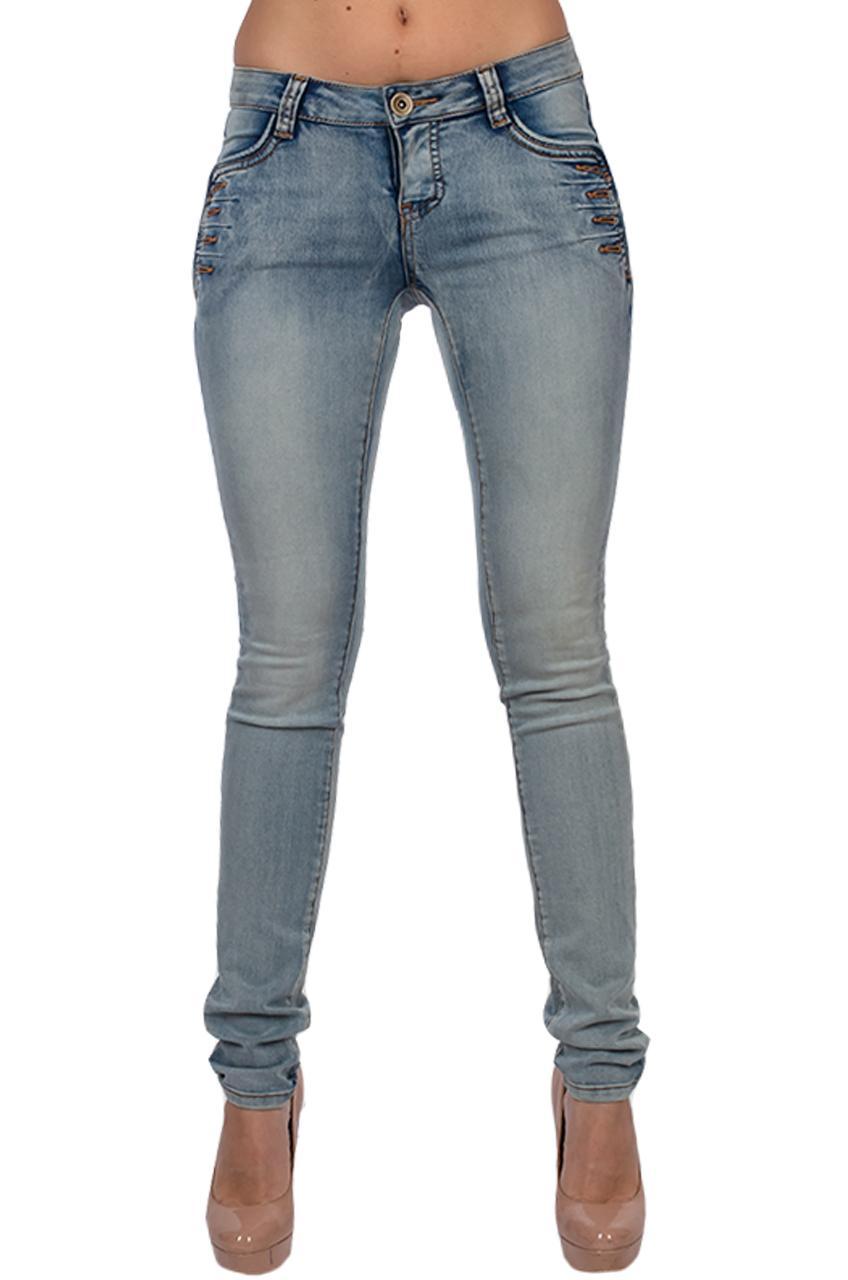 Шикарные джинсы с дизайнерскими карманами от Melrose®