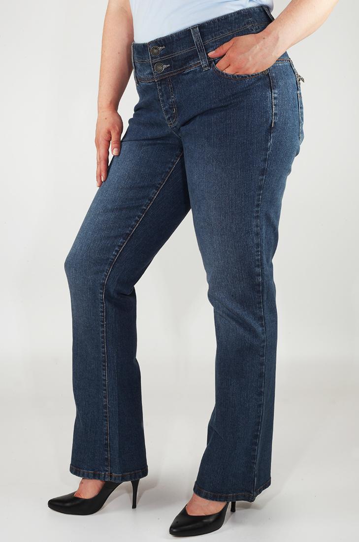 Шикарные джинсы с эффектом пуш-ап от Sheego®. Для шикарного вида сзади!