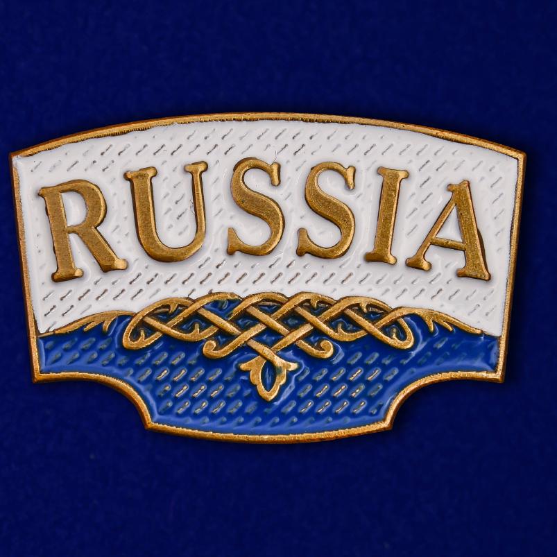 "Шильдик ""Russia"""