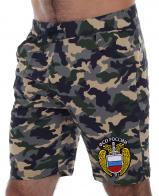 Купить хлопковые камуфляжные шорты для мужчин с эмблемой ФСО