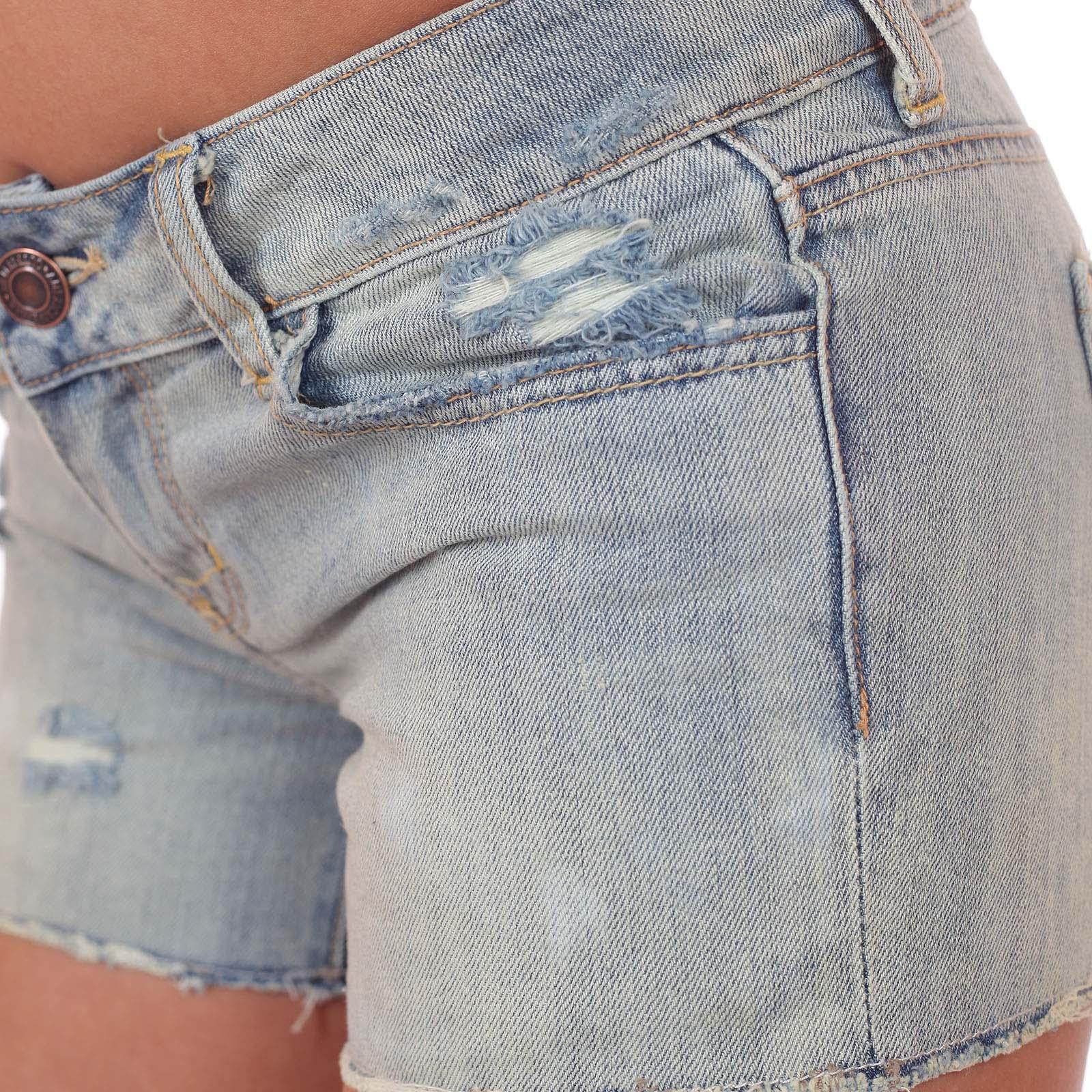 Шортики American Eagle - обрезанные затёртые джинсы из крутого материала за 45 $ в магазинах Америки в Военпро