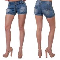 Оригинальные женские джинсовые шортики от ТМ Semir Jeans.