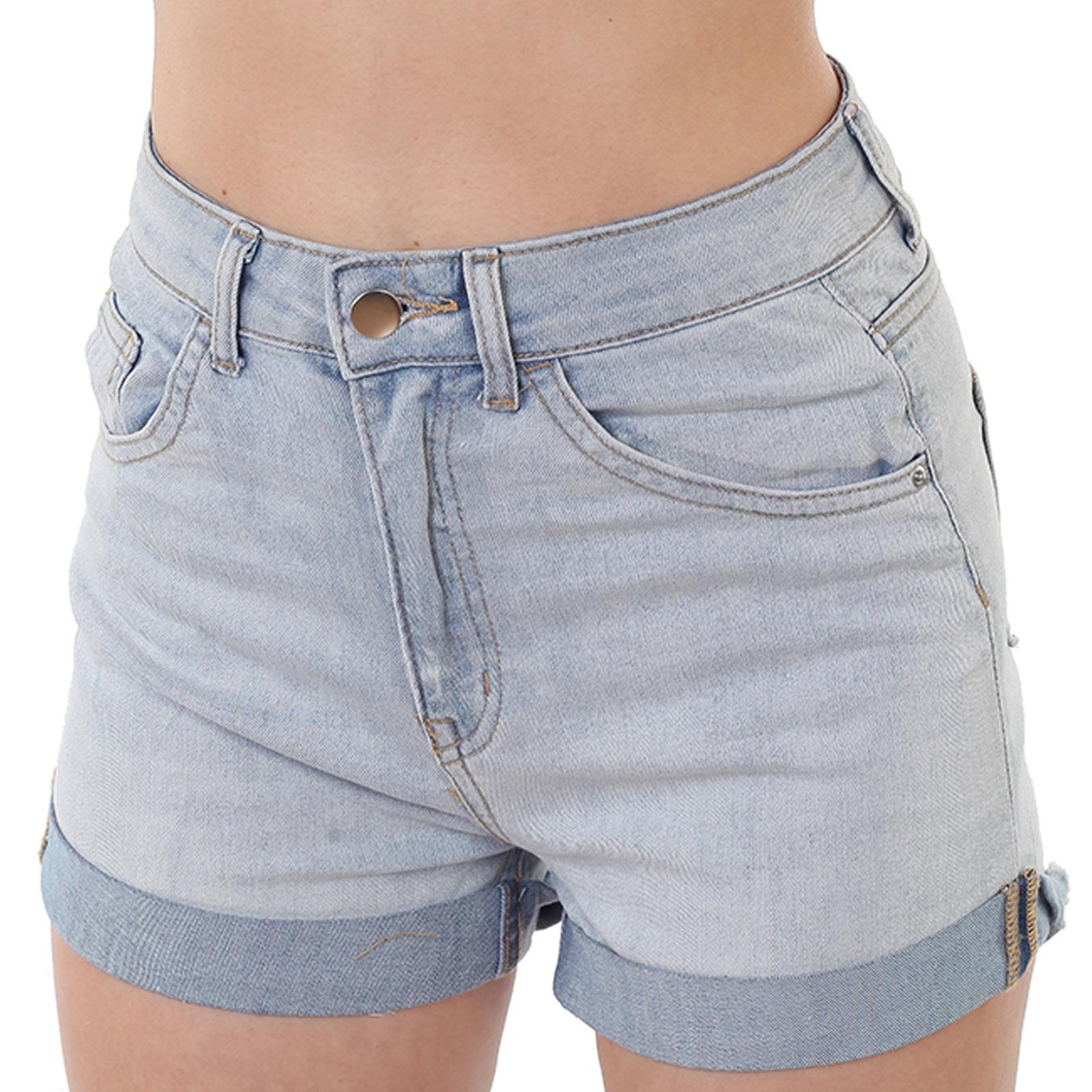Купить женские шорты с высокой талией
