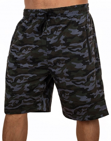 Эффектные мужские шорты New York Athletics в камуфляжной раскраске Woodland