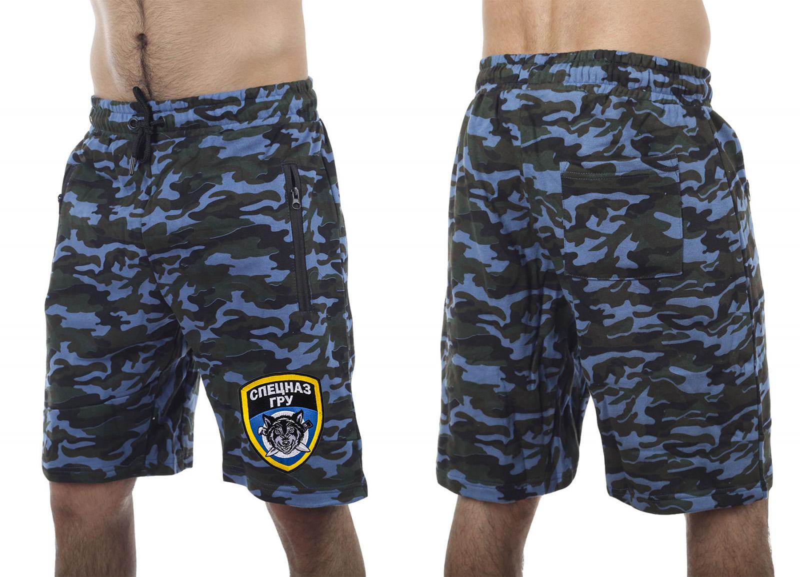 Военные мужские шорты Спецназа ГРУ