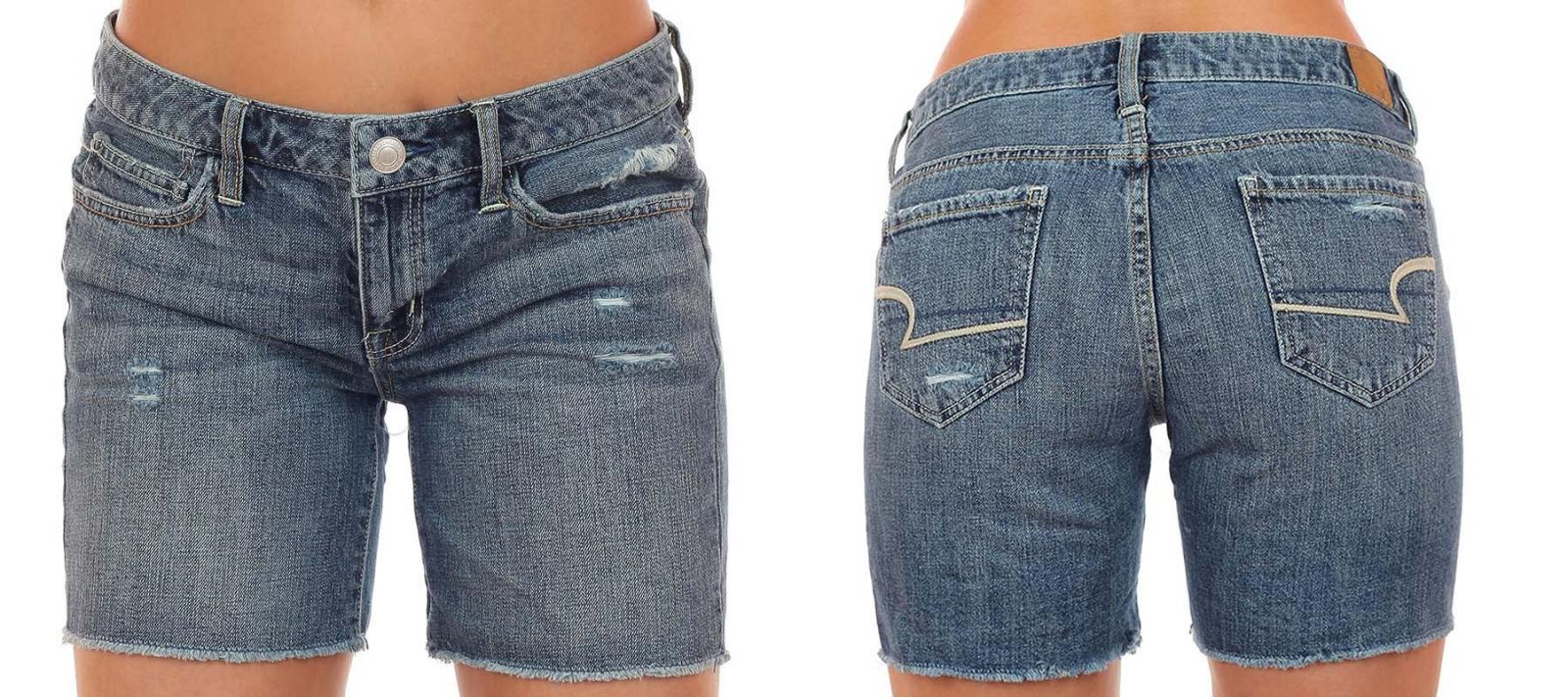 Купить джинсовые шорты в интернет магазине