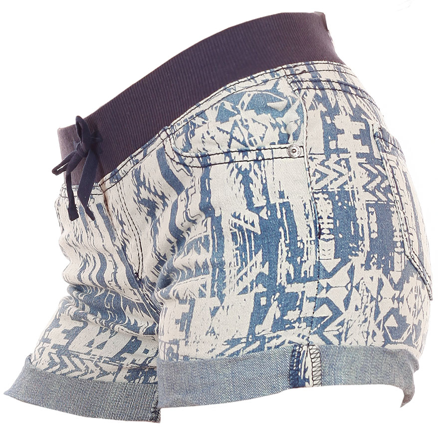 Женские шорты Arizona (США) с четкой линией талии. Этно принт, как гайд-лайн коллекции 2017