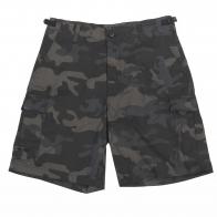 Защитные мужские шорты Brandit, камуфляж «амёба».