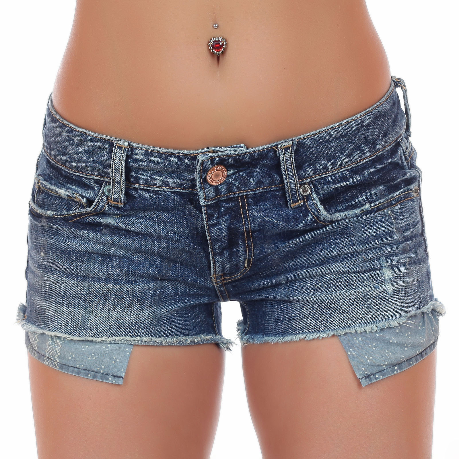Женские джинсовые шорты с эротично-выглядывающими карманами. Лимитированная серия от ТМ American Eagle