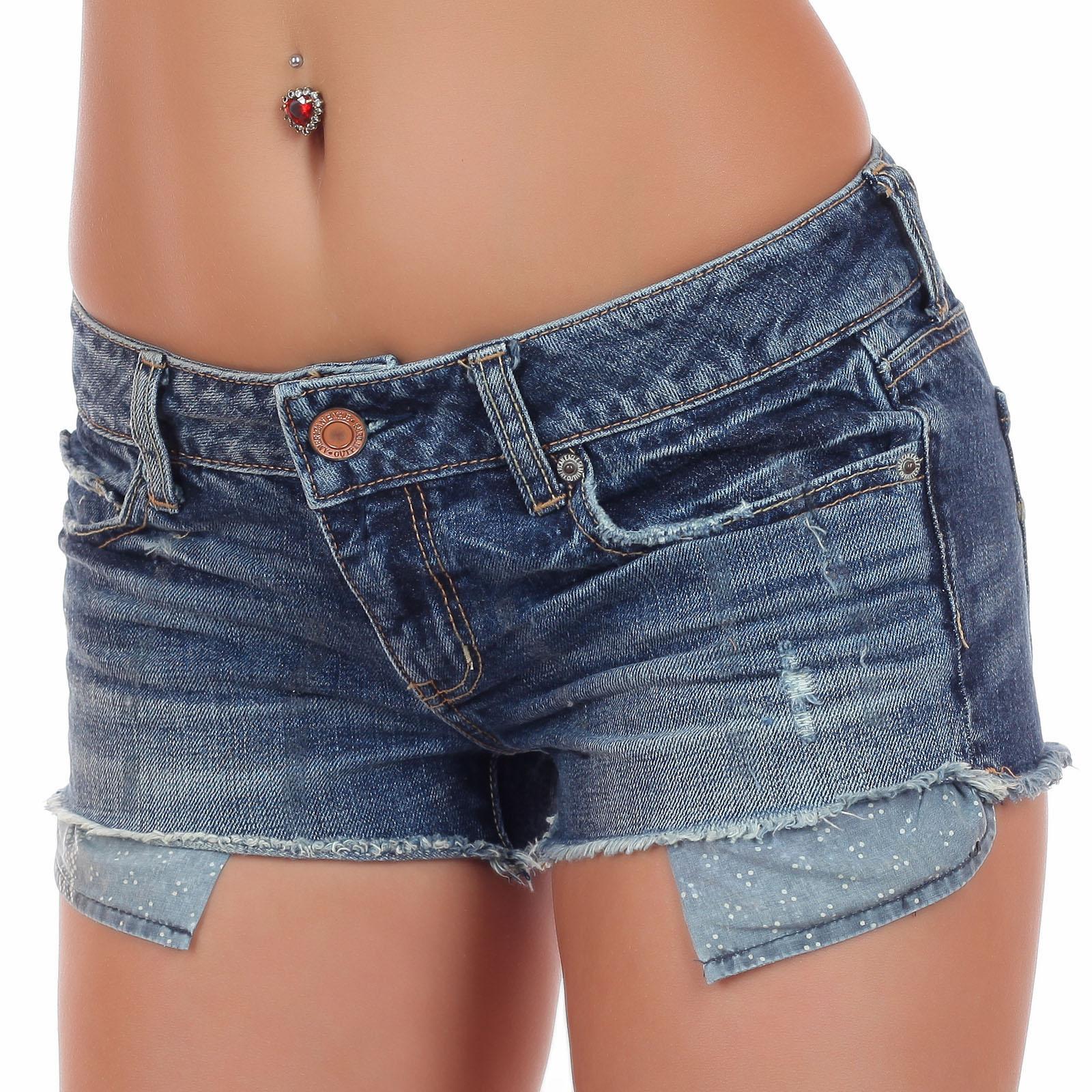 Недорогие женские джинсовые шорты 2017