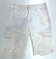 Шорты Cargo мужские белого цвета