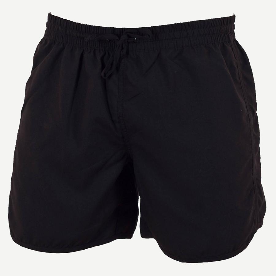 Пляжные шорты Swimwear черные мужские