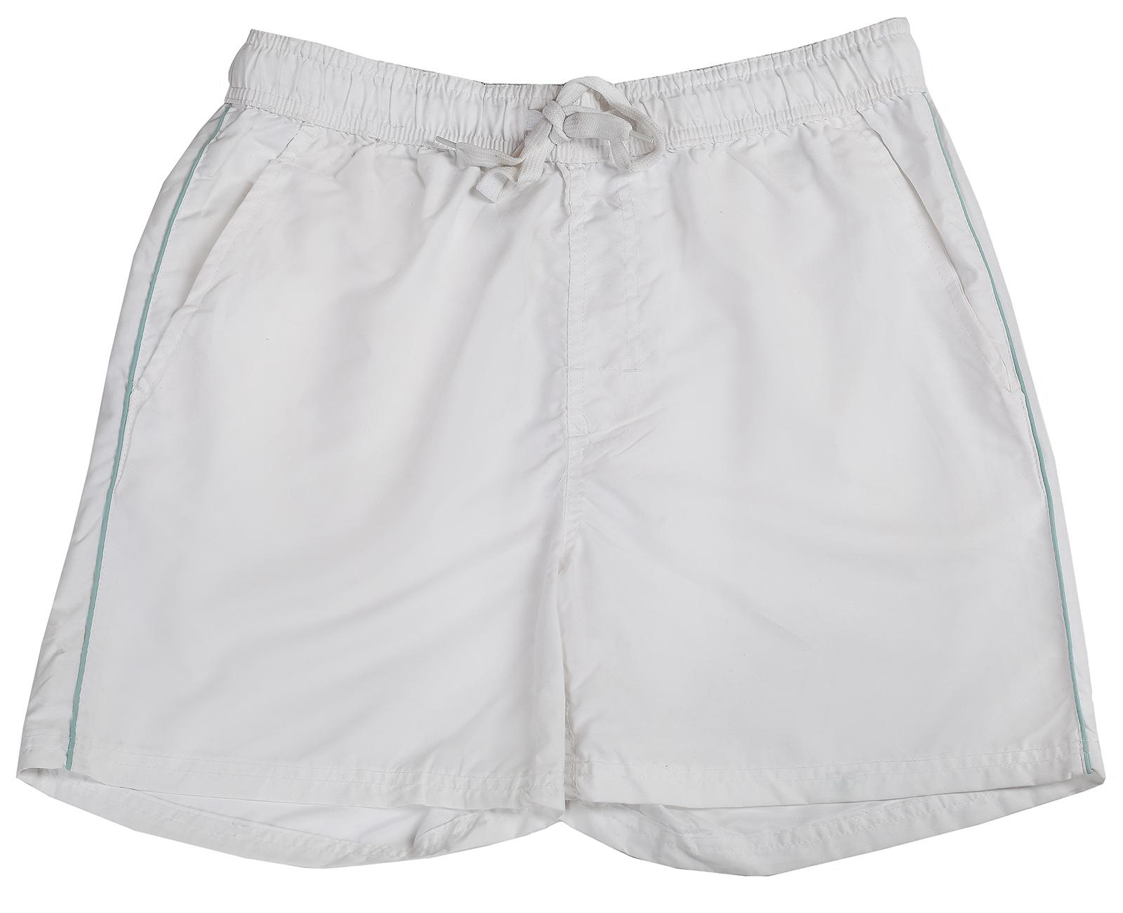 Мужские шорты белого цвета
