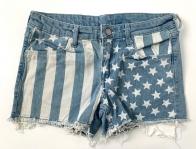 Шорты детские джинсовые