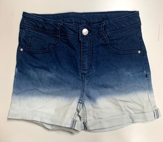 Шорты детские стильные из джинсовой ткани