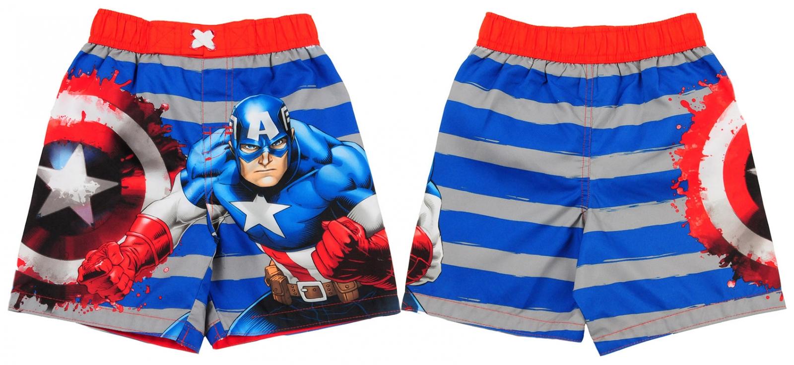 """Шорты для мальчиков летние """"Captain America"""""""