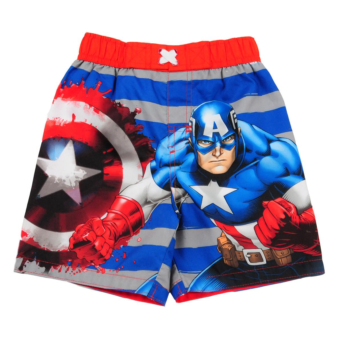 """Купить шорты для мальчиков летние """"Captain America"""""""