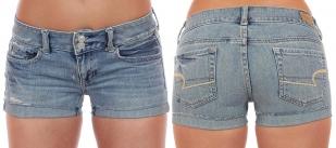 Джинсовые шорты модного бренда