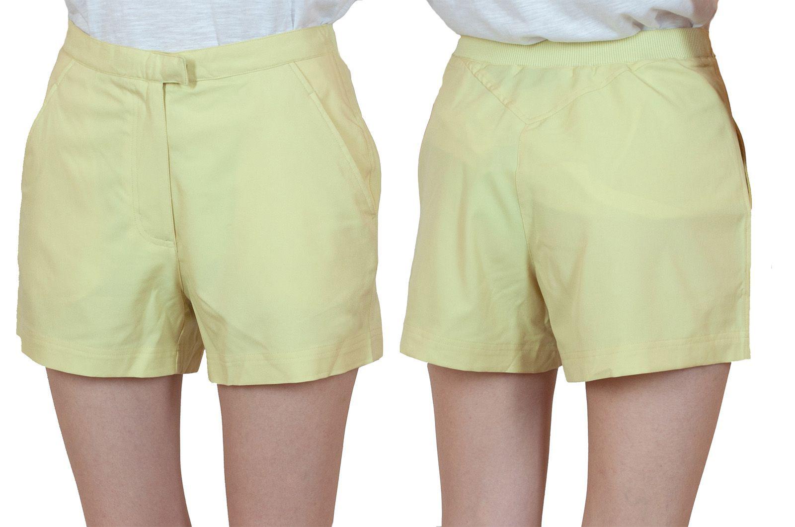 Заказать шортики для женщин лимонного цвета