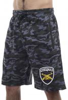 Мужские шорты до колен с вышивкой СПЕЦНАЗ
