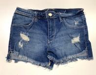 Шорты джинсовые детские с прорехами