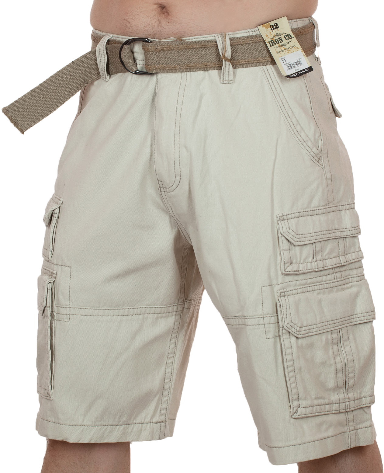 Мужские хлопковые шорты (Iron Co., США)