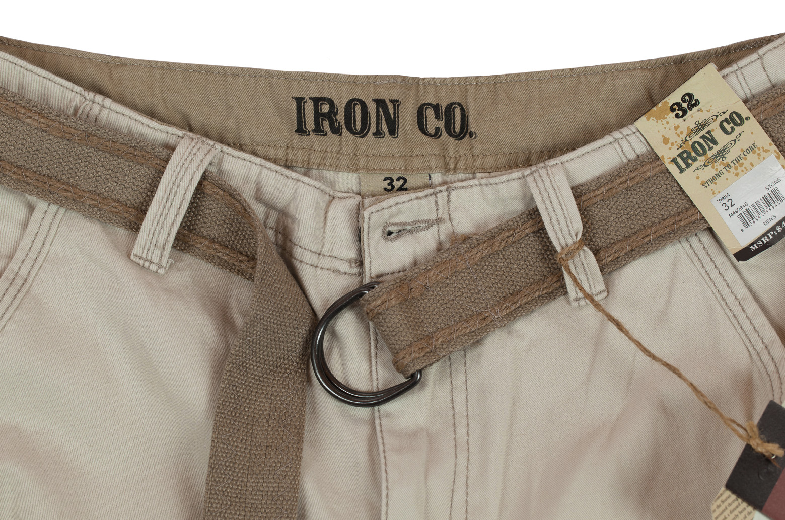 Мужские хлопковые шорты (Iron Co., США) с доставкой