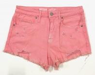 Шорты джинсовые женские розового цвета
