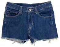 Шорты джинсовые женские темного оттенка